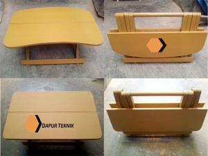 cara mudah membuat meja lipat untuk belajar anak rh dapurteknik com cara membuat meja lipat sederhana cara membuat meja lipat untuk jualan