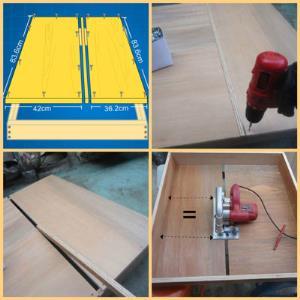 Cara Membuat Meja Potong Atau Table Saw Dari Papan Kayu