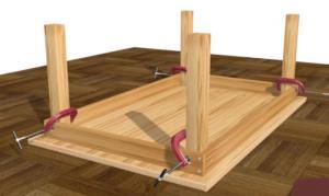 Cara Membuat Meja Kayu Sederhana yang dapat Anda Buat Sendiri Dirumah
