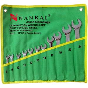 Nankai Kunci Ring Pas Set 11 Pc (8 - 24mm)
