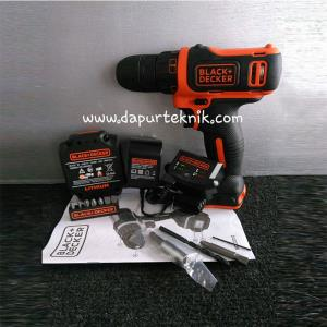 Black-Decker Bor Cordless 10,8V - Kit Box
