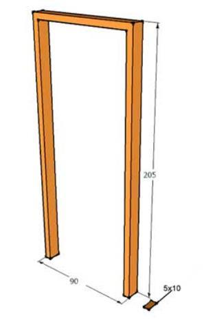 Cara Membuat Kusen Pintu dan Kusen Jendela dari Kayu
